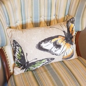 Other - Butterfly Accent Pillow